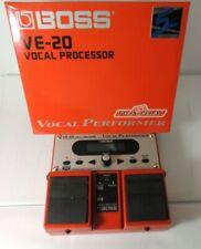 Boss VE-20 Vocal Performer Voice Multi Effects Pedal Phrase Sampler