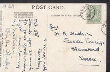 Genealogy Postcard - Hudson - Berden Vicarage, Stanstead, Essex  RF669