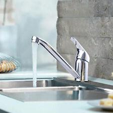 Wasserhahn Küchenarmatur Waschtischarmatur Einhebel Edelstahl schwenbar