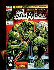 TOXIC AVENGER #1 (9.2) A HIDEOUSLY DEFORMED CREATURE!