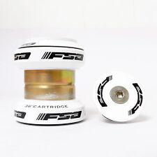 """FSA ORBIT MX Threadless Mtb Road Headset 1-1/8"""" w/ top cap Black/Red/Gold/Blue"""
