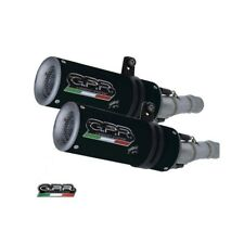 HONDA VTR 1000 SP-2 RC51 2002/06 EXHAUSTS M3 BLACK TITANIUM by GPR Exhausts