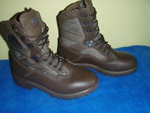 British Army, YDS Kestrel Patrol Boots Men's Brown, size 8w, 42/8, Genuine