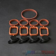 BMW swirl flap blanks 4 pcs 22mm and manifold gaskets diesel Viton BIMMERTUNE