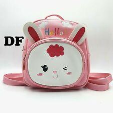 borsa borsetta zaino zainetto da bambina scuola passeggio asilo rosa eco pelle