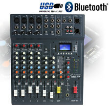 Studiomaster Club XS 8 Channel Mixer Desk USB DSP Recorder Bluetooth Playback DJ