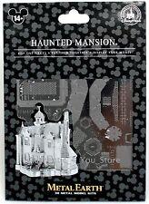 NEW Disney Parks Metal Earth 3D Model Kit Haunted Mansion Disneyland Attraction