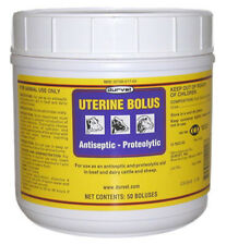 Uterine Bolus 50 Count Beef Dairy Cattle Sheep