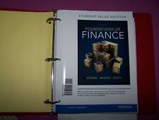 Foundations of Finance. 8th Student Value Edition. Keown, Martin, Petty