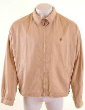 MARLBORO CLASSICS Mens Harrington Jacket EU 50 3XL Beige Cotton  NS05