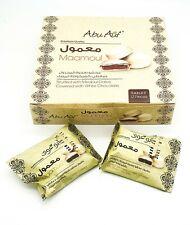 Abu auf maamoul en peluche avec medjoul dates recouverts de chocolat blanc 2 Packs