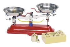 Kaufladen Waage Metallwage 7 Gewichte GOKI 51891 - neu -