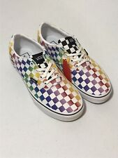 Vans Doheny Rainbow Checkerboard Women's Shoes Sz 8.5 New Without Box