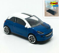 Majorette OPEL Adam Blue no.01 White Roof 1/55 202A no Package Free Display Box