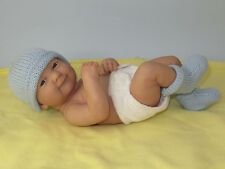 KNITTING PATTERN INSTRUCTIONS- JUST FOR PREEMIES PREMATURE BABY SIMPLE 4PLY SET
