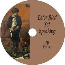 Ester Ried Yet Speaking, Isabella Alden Pansy Faith Hope Audiobook on 1 MP3 CD
