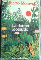 LA DONNA LEOPARDO=ALBERTO MORAVIA=EDITO BOMPIANI=1991