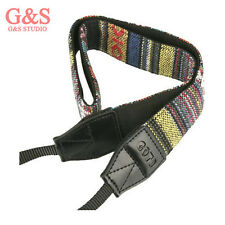 New Vintage Hippie Letter camera strap Neck strap for DSLR