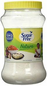 Sugar Free Natura Powder Jar,100 gram   Zero Calorie Sugar Substitute