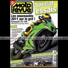 MOTO REVUE N°3896 TRIUMPH 1050 SPRINT GT TIGER 800 XC KAWASAKI ZX-10R KTM RC8 R