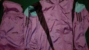 GIACCA-TUTA COMPLETA ADIDAS VINTAGE '90 jacket pants pantaloni gabber