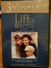 Life Is Beautiful (Dvd, 1999, Collector's Edition, Widescreen) Insert, Likenew!