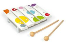 Janod Confetti Wooden Mini Xylophone Kids Musical Instrument