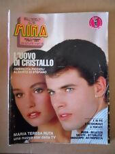 MINA Fotoromanzo n°296 1986  [D30]
