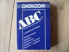 DATACOM ABC der Datenkommunikation Lexikon englisch-deutsch +dt.-engl. TOP