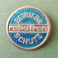 DDR Abzeichen - VEB - Robotron - Betriebsschutz