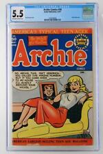 Archie Comics #50 - CGC 5.5 FN- Archie 1951 - Classic Betty Cover!