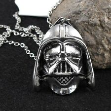 STAR Wars-Darth Vader Casco Collana + Nero Regalo Marsupio da Uomo Novità Regalo