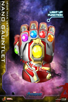 COSB646 Cosbaby Hot Toys Avengers Endgame Nano Gauntlet Iron Man Figure Model
