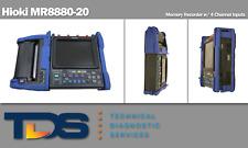 [USED] Hioki MR8880-20 Memory Recorder w/ 4 CH Inputs + NIST Calibration Cert