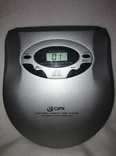 GPX SILVER C3849 Portable CD Player, Tested & Works Great!!