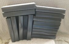 15 EMPTY VHS VIDEO TAPE STORAGE CASES Black Up Cycle Retro