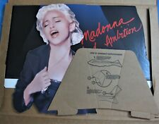 MADONNA PROMO DISPLAY BLOND AMBITION TOUR STAND 6'4'' BOX BOY TOY 1990 RARE