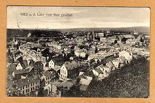Diez Lahn schöne Stadtteil Ansicht mit Wohnhäusern 1913