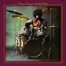 BUDDY MILES - THEM CHANGES  VINYL LP  8 TRACKS CLASSIC ROCK & POP NEW+