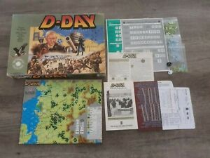 D-Day: Smithsonian Institution Edition, Avalon Hill, strategy boardgame rpg