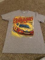 Men's NASCAR Team Penske #22 Joey Logano Vinyl Graphic Tee M