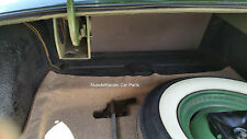 1952-1954 Hudson Convertible TRUNK MAT TanTweed Mat on Tar/Felt  52 53 54