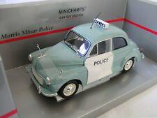 """Morris Minor """"Police"""" Polizei in 1:18 von Minichamps in OVP"""