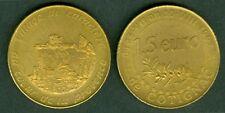 1,5 EURO TEMPORAIRE DES VILLES DE COTIGNAC  1997  ETAT  NEUF