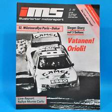 DDR Illustrierter Motorsport IMS 2/1990 Ford Scorpio BMW M3 VW Futura NSU M