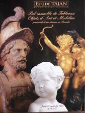 Catalogue de Vente Mobilier Bronze Porte-montre d'une demeure de Picardie
