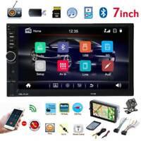 "2DIN 7"" Car Stereo Touch Screen MP5 Player 1080P Bluetooth FM Radio Head Unit"