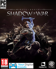 MIDDLE EARTH SHADOW OF WAR PC [BRAND NEW STEAM KEY]