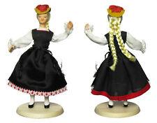 GERMAN FOLK COSTUME DOLL - Schwarzwald Region - Germany ethnic Black Forest art