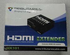 TRIBUTARIES HDMI EXTENDER MODEL HX101 EXTENDS 40 METERS